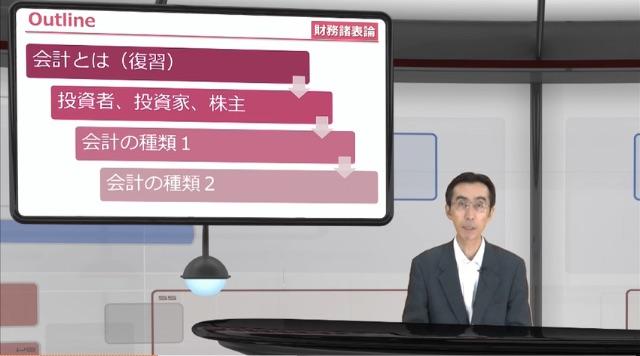 税理士スタディングの「財表 財務会計総論」のビデオ講義