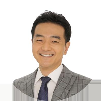 スタディングTOEIC®TEST講座の早川幸治講師(男性)の顔写真